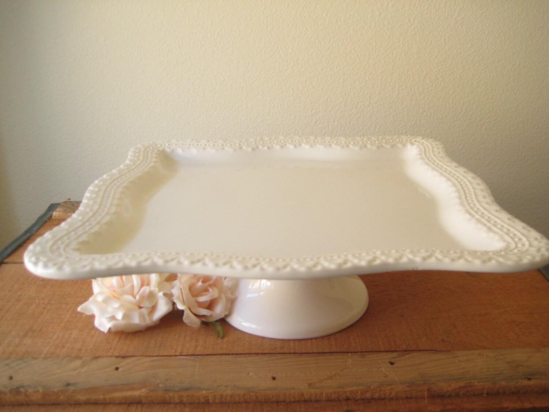 Vintage Ceramic Cake Stand