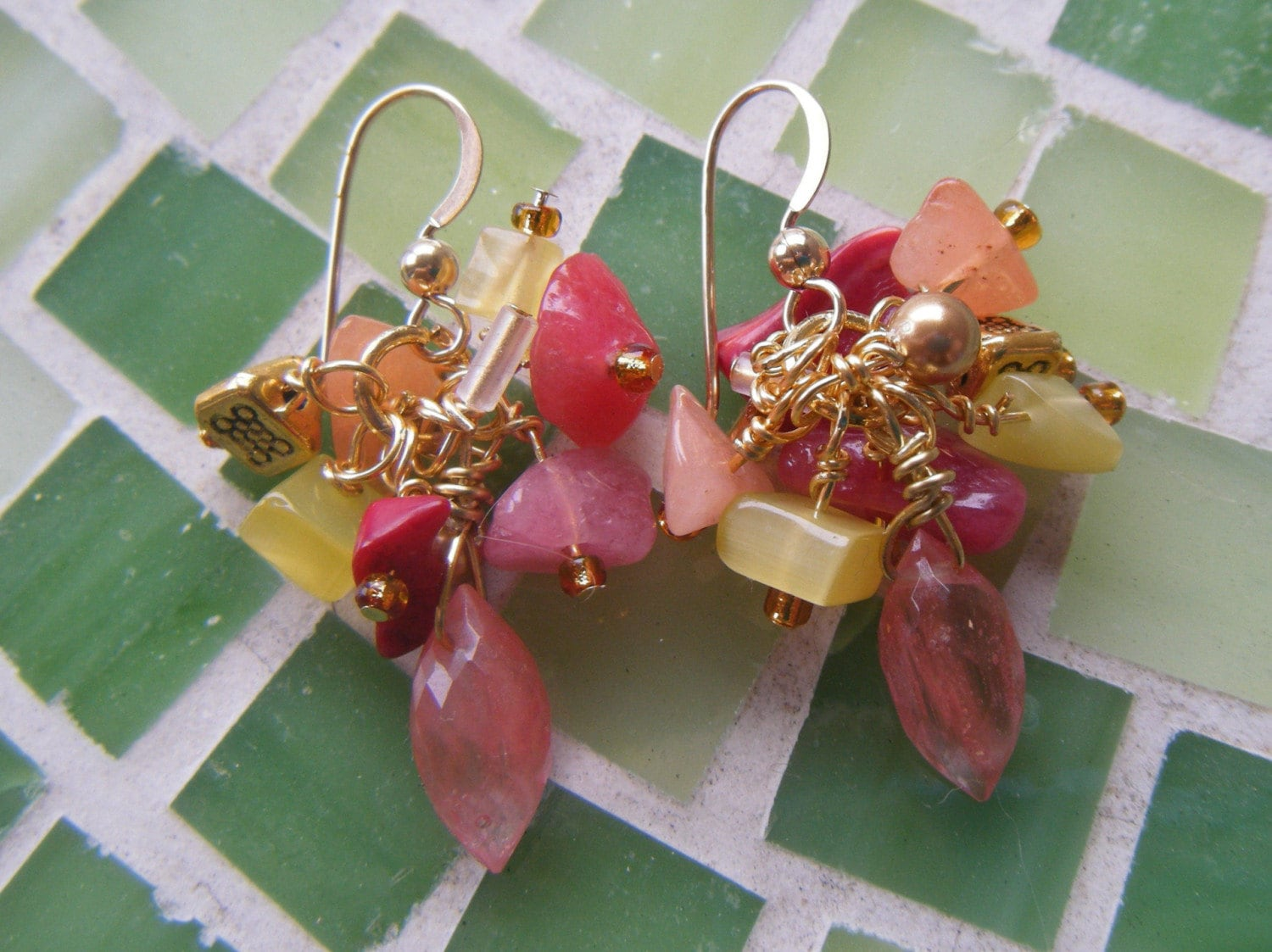 Summer Fruit earrings