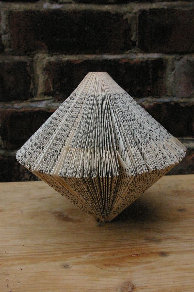 Cone Book Sculpture
