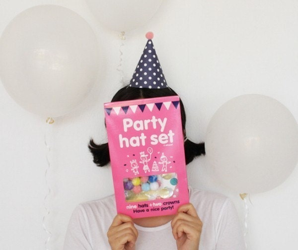 Party Hats and Crowns (11pcs)