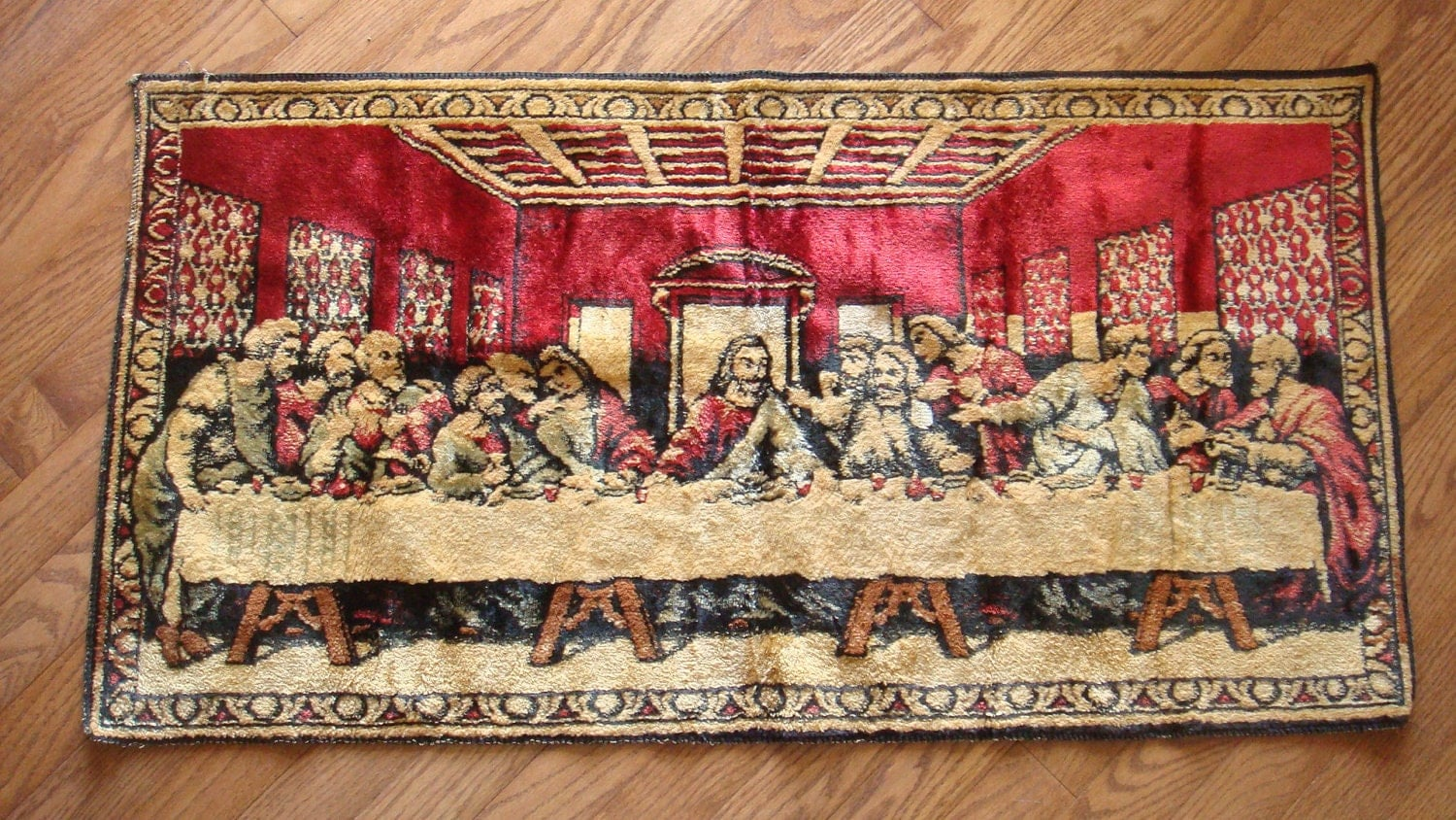The Lord S Supper Wall Hanginge Last Supper V Wall Tapestry The