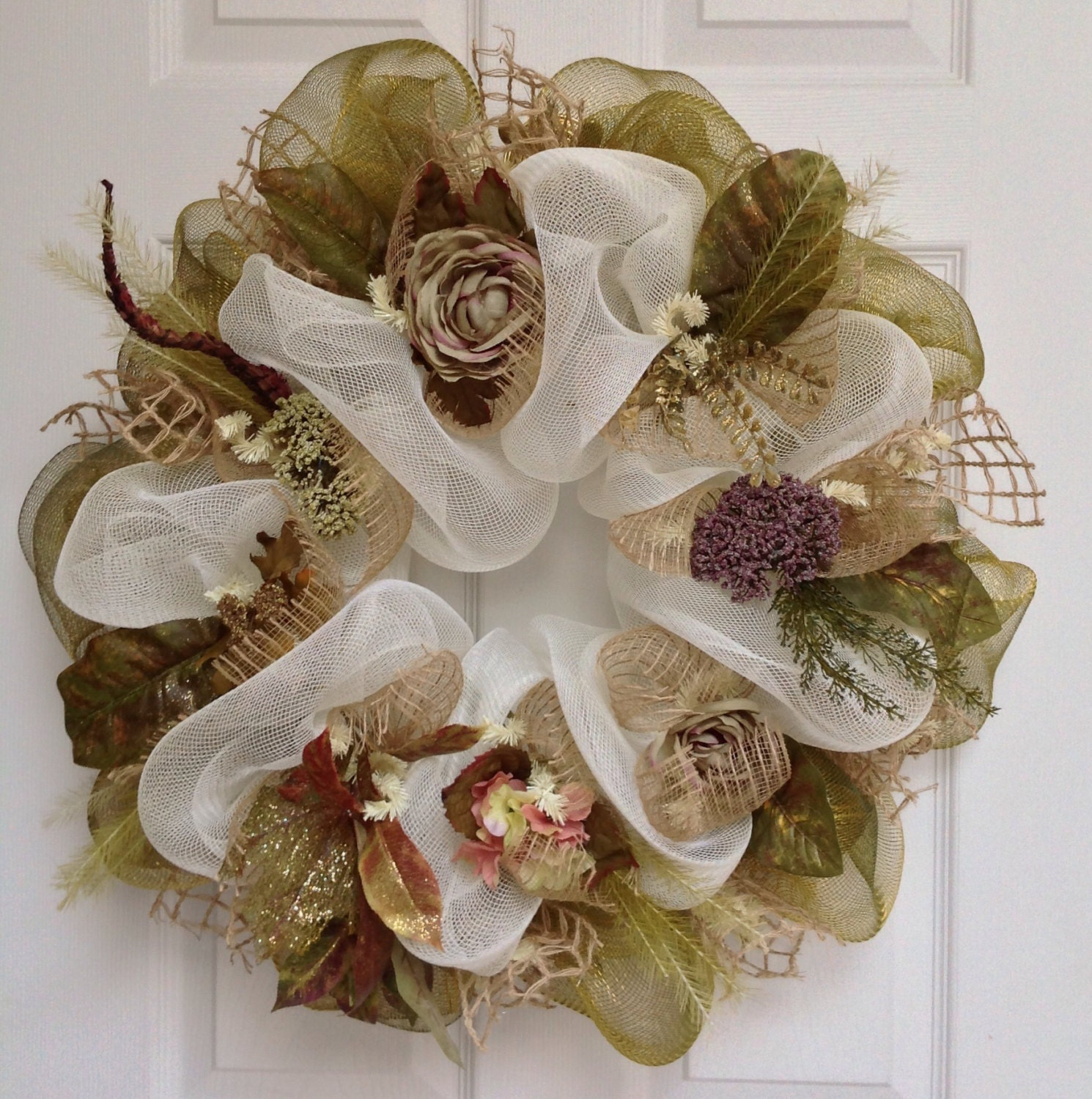 Deco Mesh Projects on Pinterest Fall Wreaths, Deco Mesh and Deco