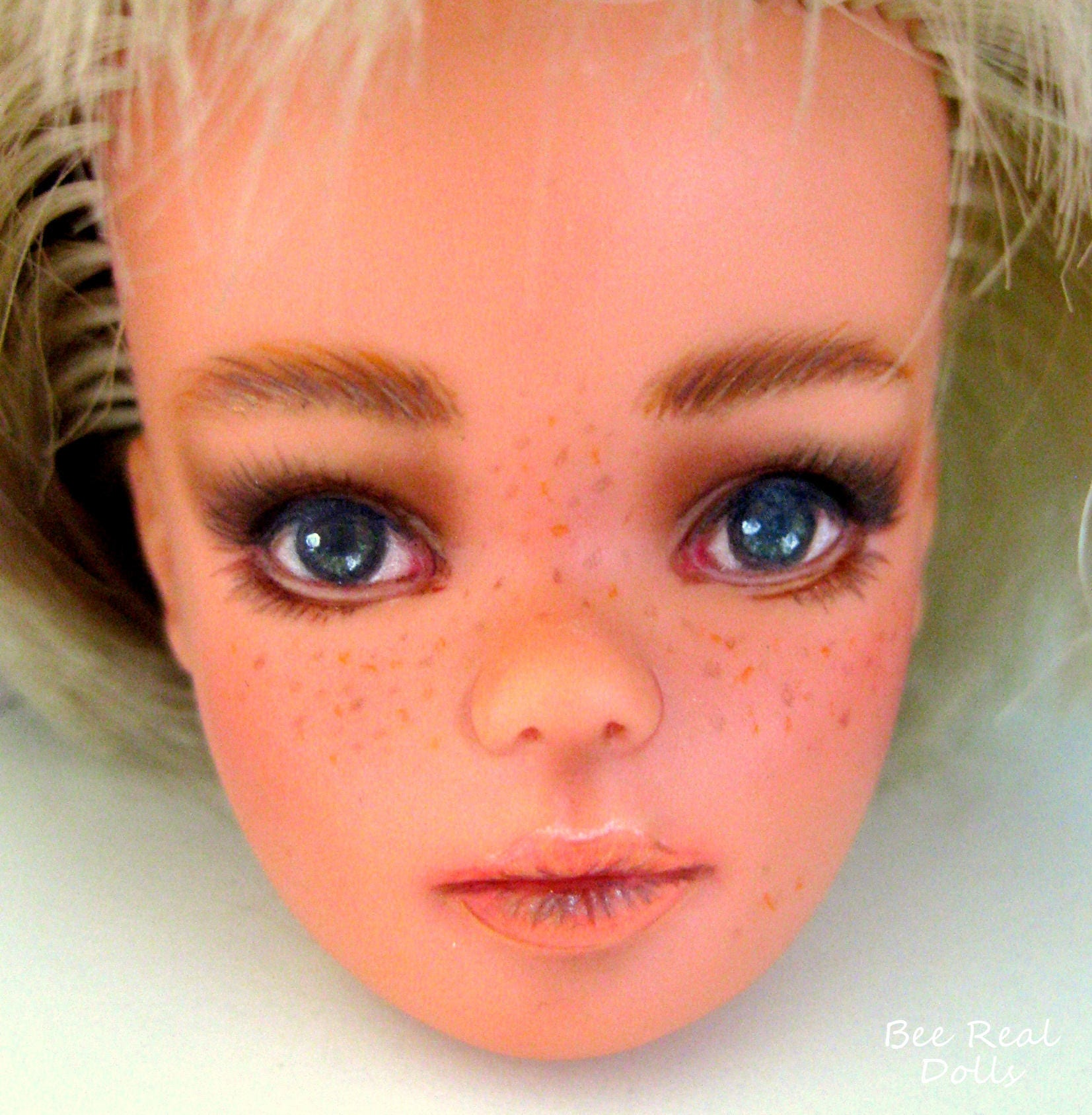 OOAK commissions doll repaint Custom lifelike dolls custom Sindy doll face 1970 Sindy doll repaint personalized Sindy realistic dolls