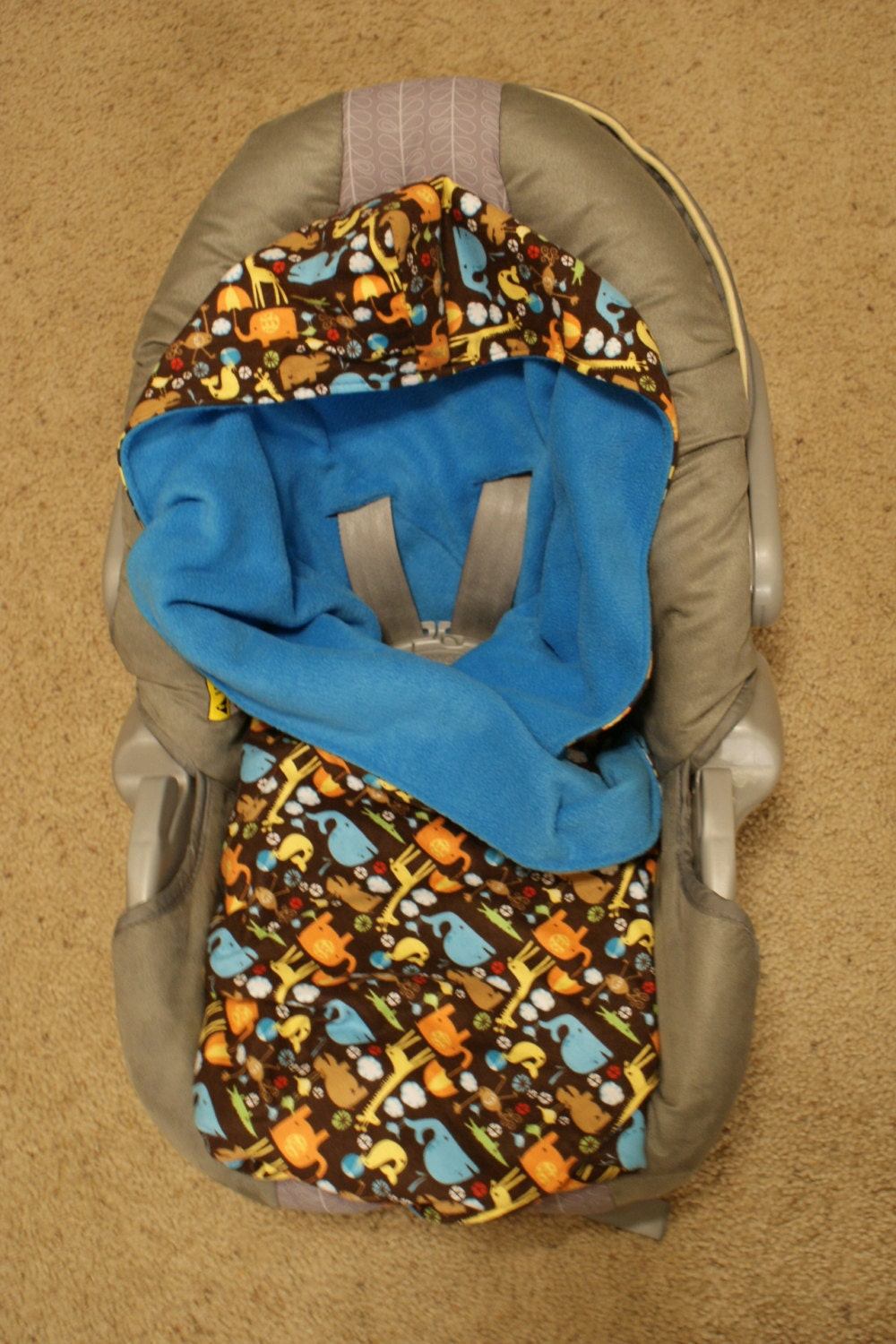 Carseat Swaddle Blanket