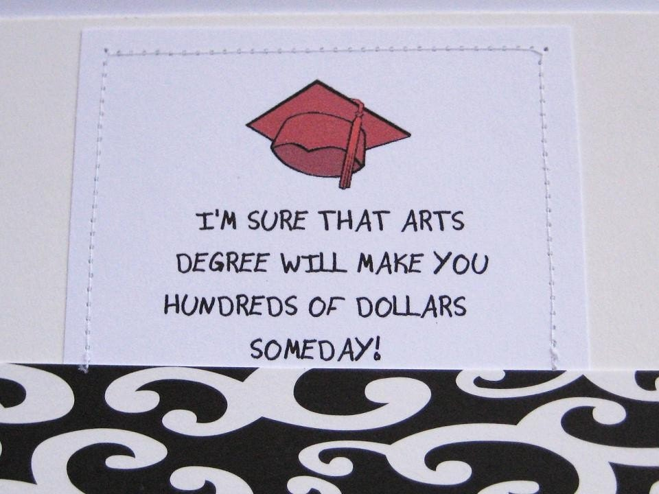 graduation card by dandee