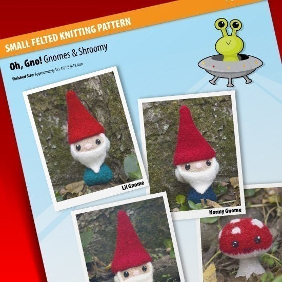 Ravelry: Knit Garden Gnome Pattern pattern by Amy Gaines