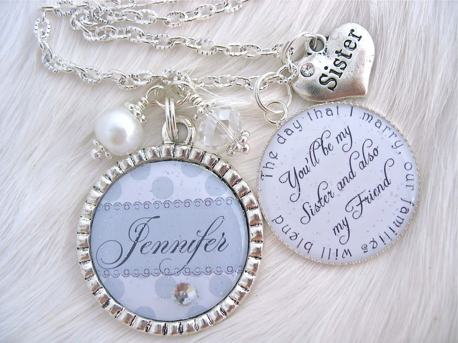 Best Wedding Gift For My Sister : My SISTER My BEST FRIEND Maid of Honor Sister of the Bride Wedding ...