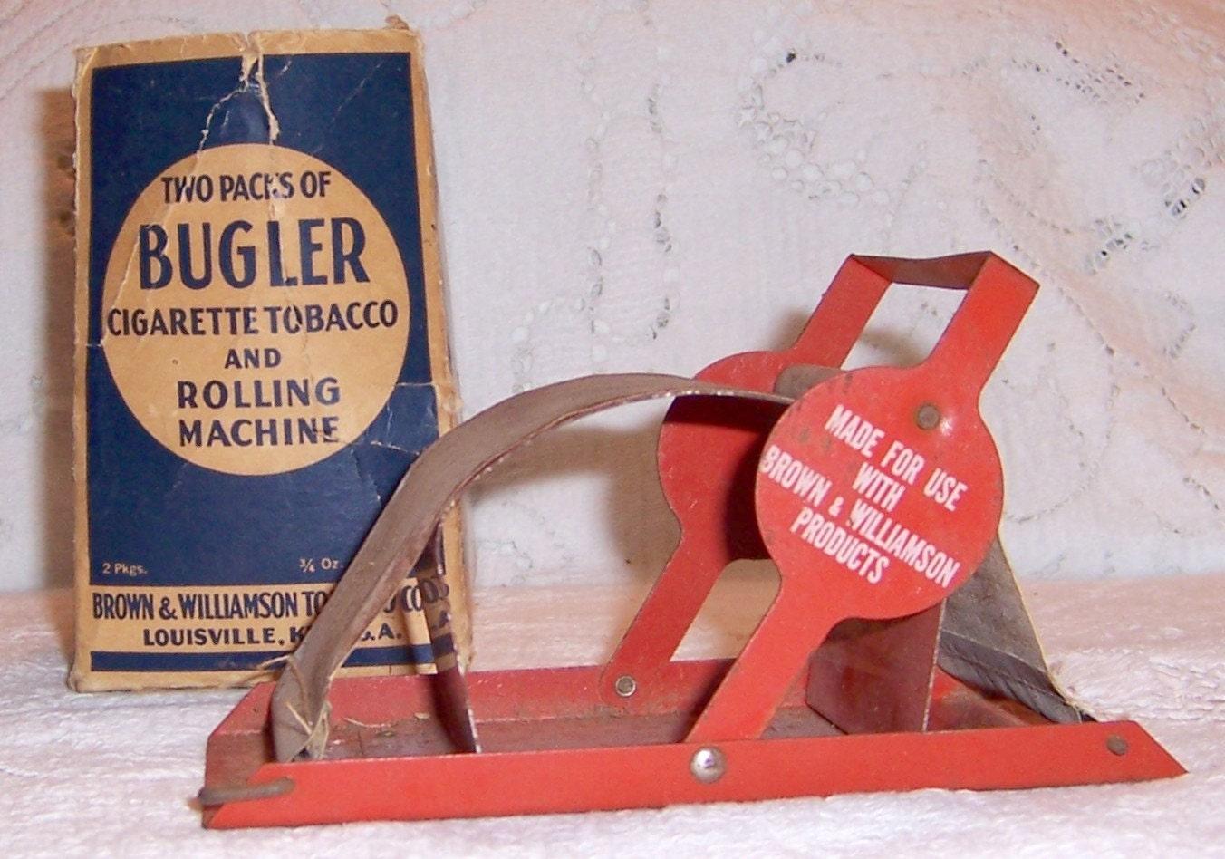 bugler rolling machine