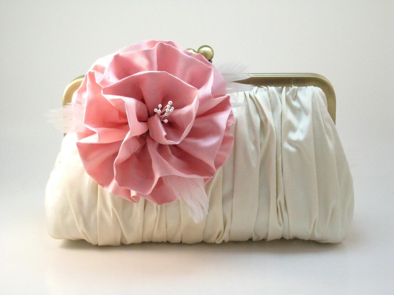 Rosa Iceberg Clutch Purse - Love