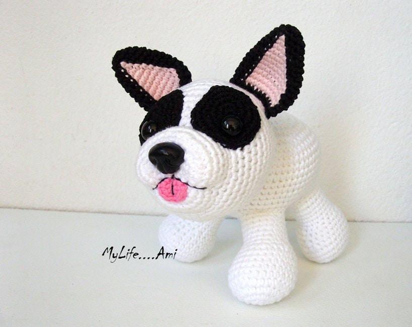 Items similar to French Bulldog Plushie Sculpture ...