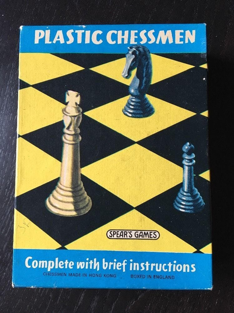 Vintage Chessmen By Spears Games