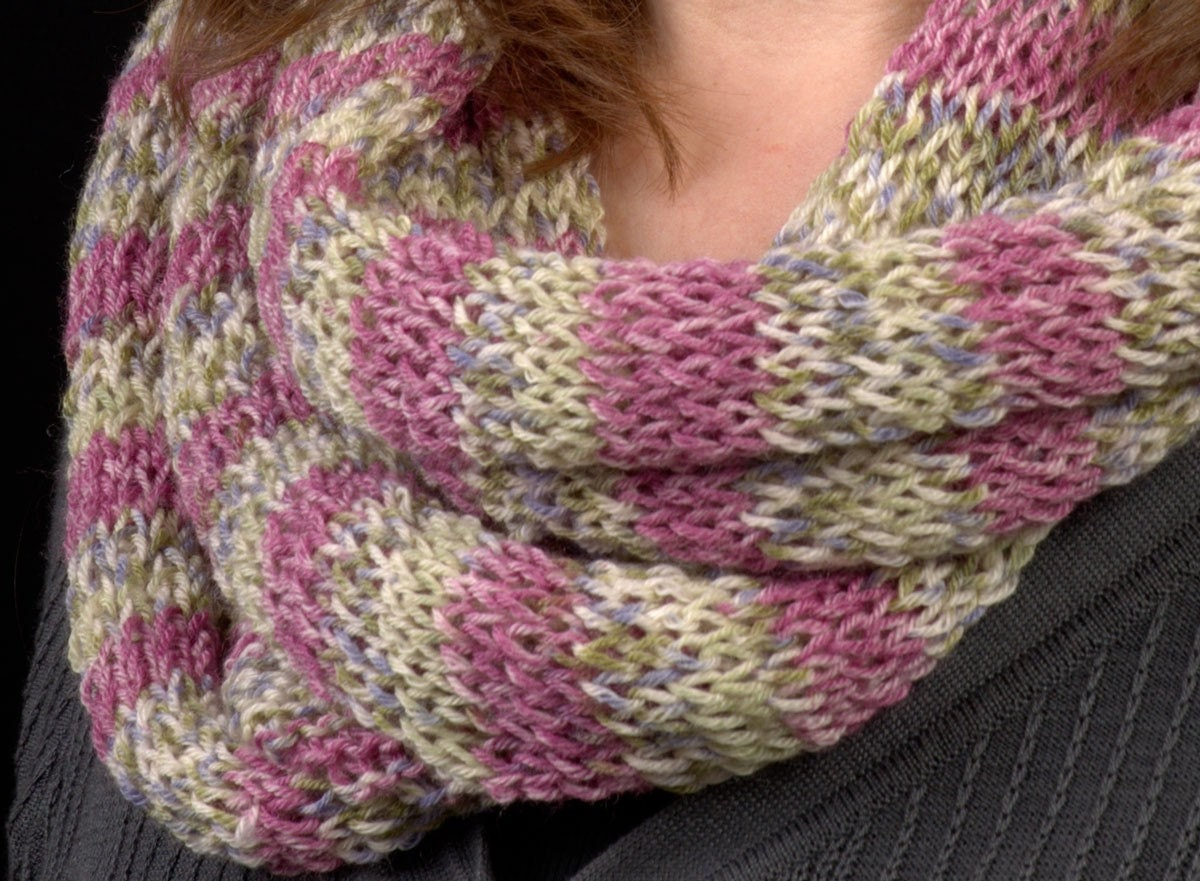 Lightweight Knitted Scarf