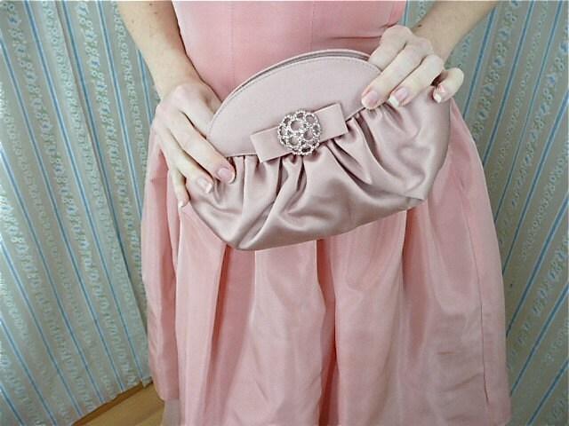 Pink satin Stuart Weitzman set size 7 1/2
