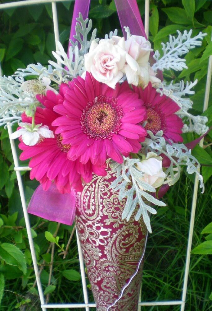Wedding Flower Cone Decoration DIY By Weddingwow On Etsy