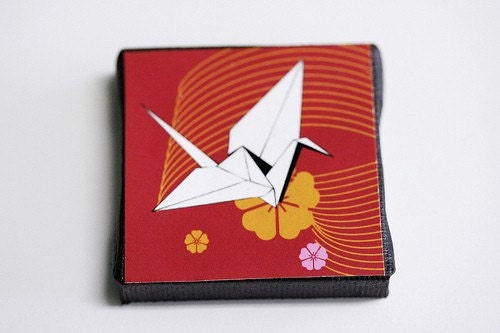 Origami Crane Print