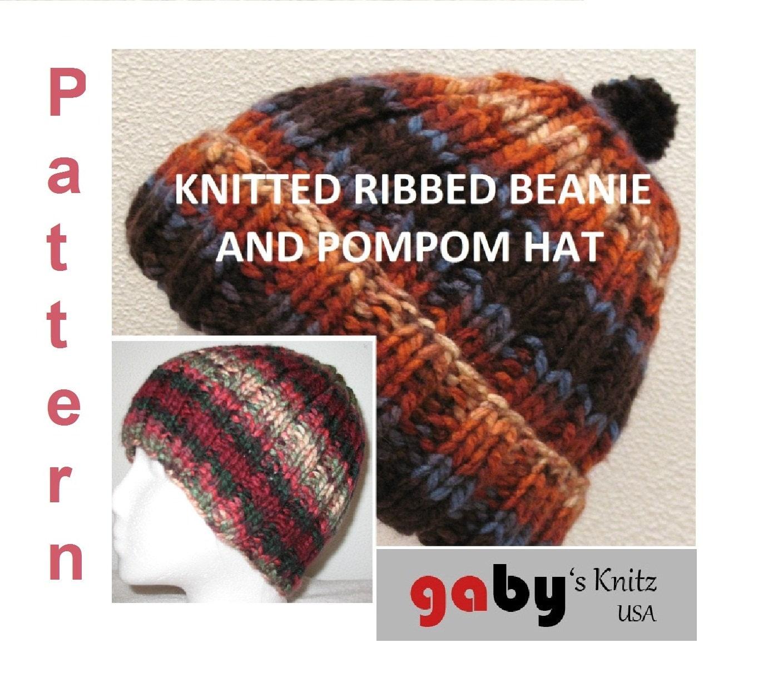 RIBBED CROCHET HAT PATTERN | Original Patterns