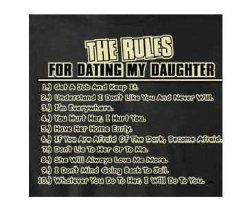 Rules For Dating A Firemans Daughter