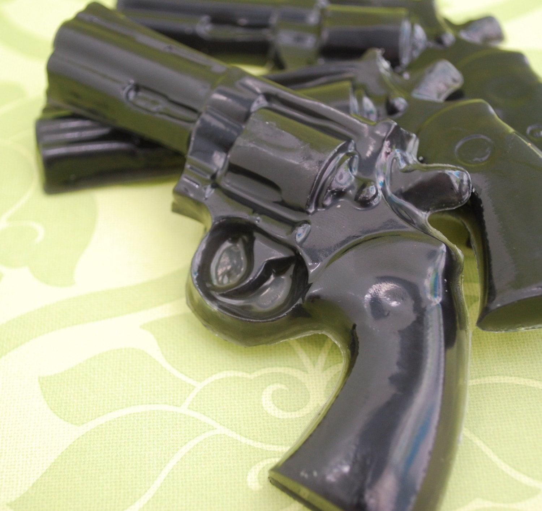 Gun Soap-  Man Soap Set of 3