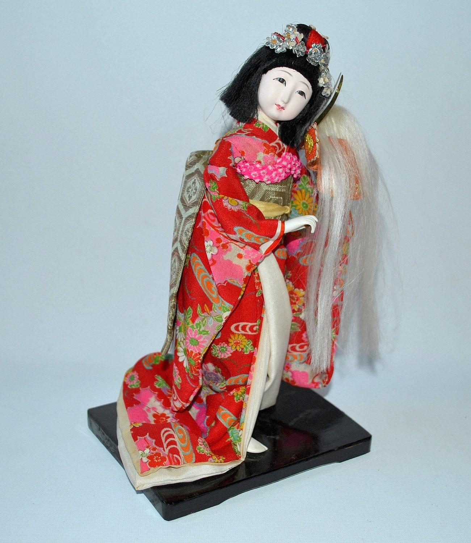 vintage japanese doll