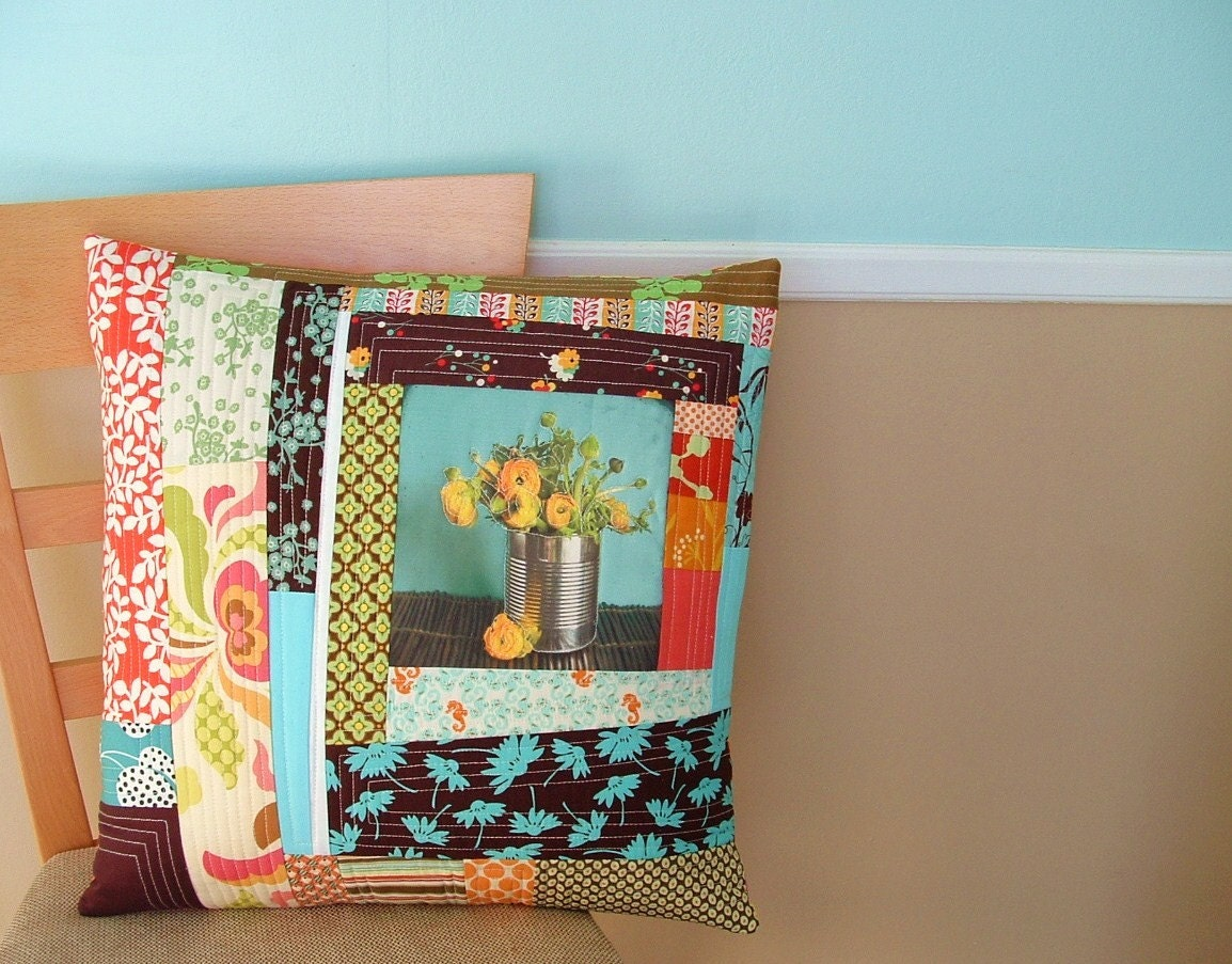 Ranunculus Pillow-An ARTS IN RI Collaboration