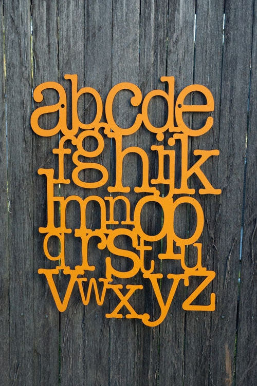 Alphabet on the Wall (ABC, ABCs)