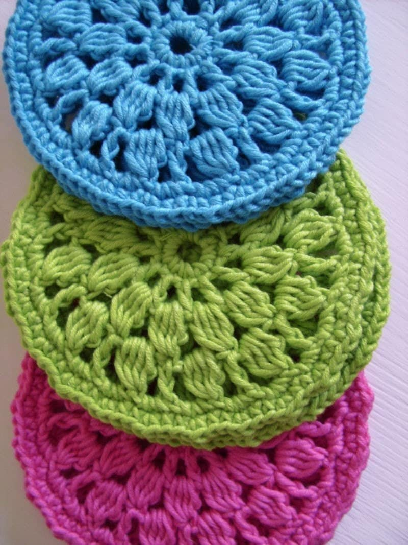 Crochet Patterns Circle : EASY CROCHET CIRCLE ? Crochet For Beginners