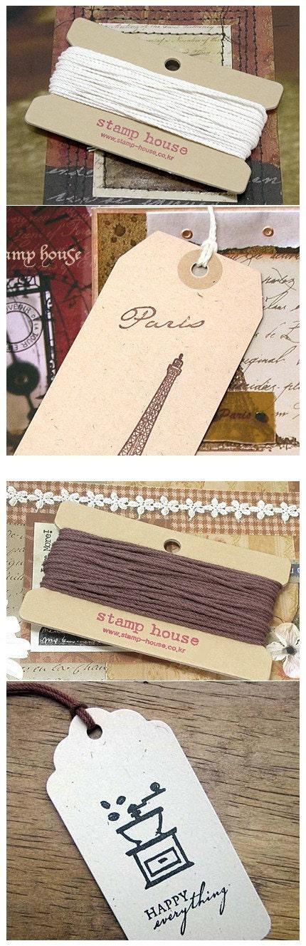 Gift Tag 48 sheet and String