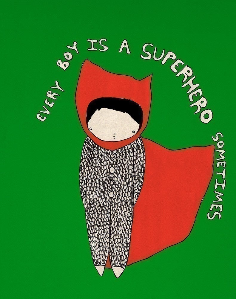 Every Boy is a Superhero Sometimes