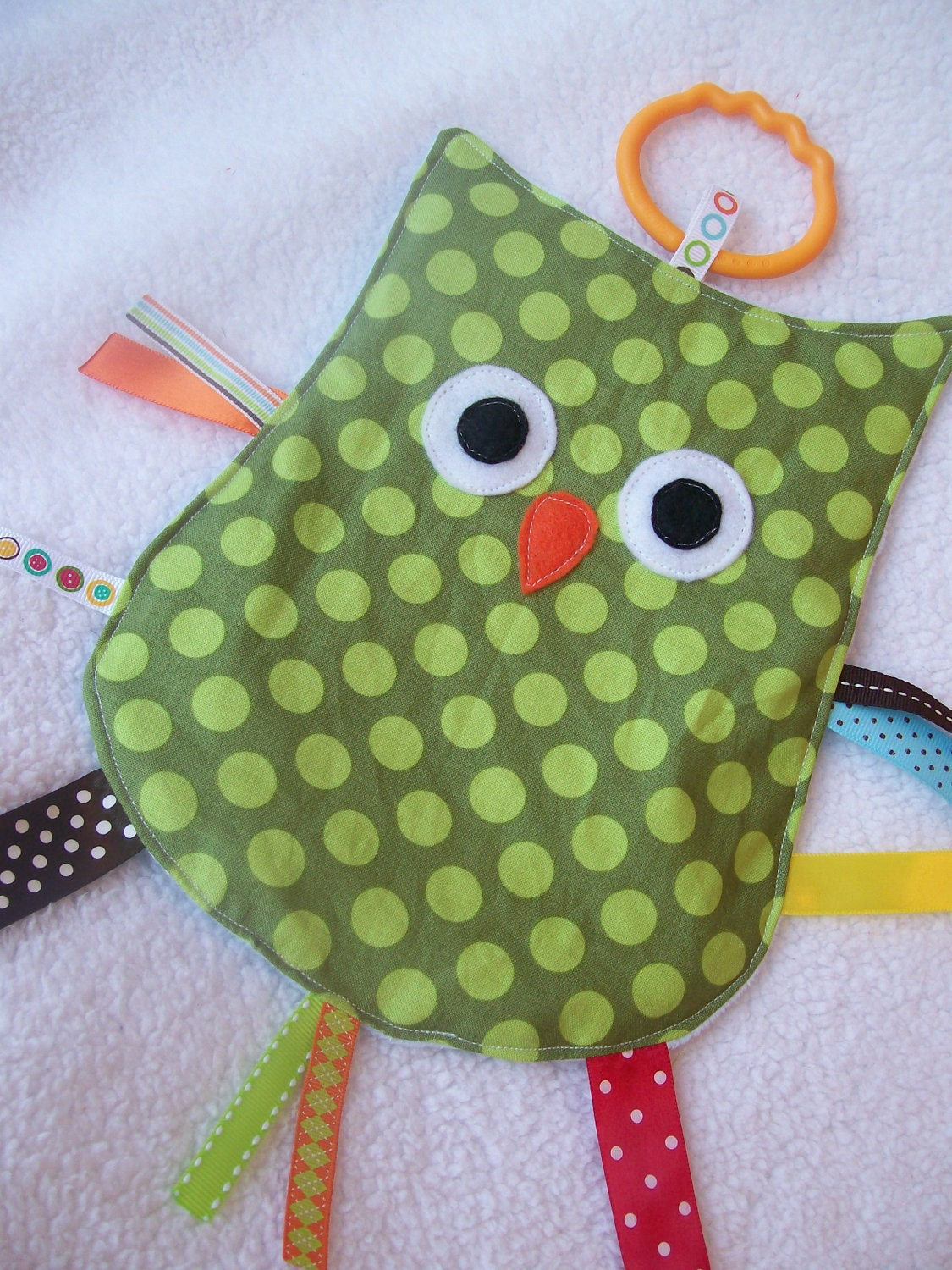 What a Hoot CRINKLE CRACKLE Sensory Owl Toy