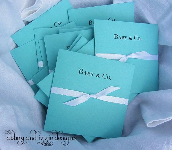 tiffany blue baby shower by abbeyandizziedesigns on etsy