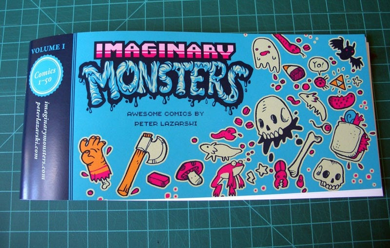 Imaginary Monsters volume 1 cover