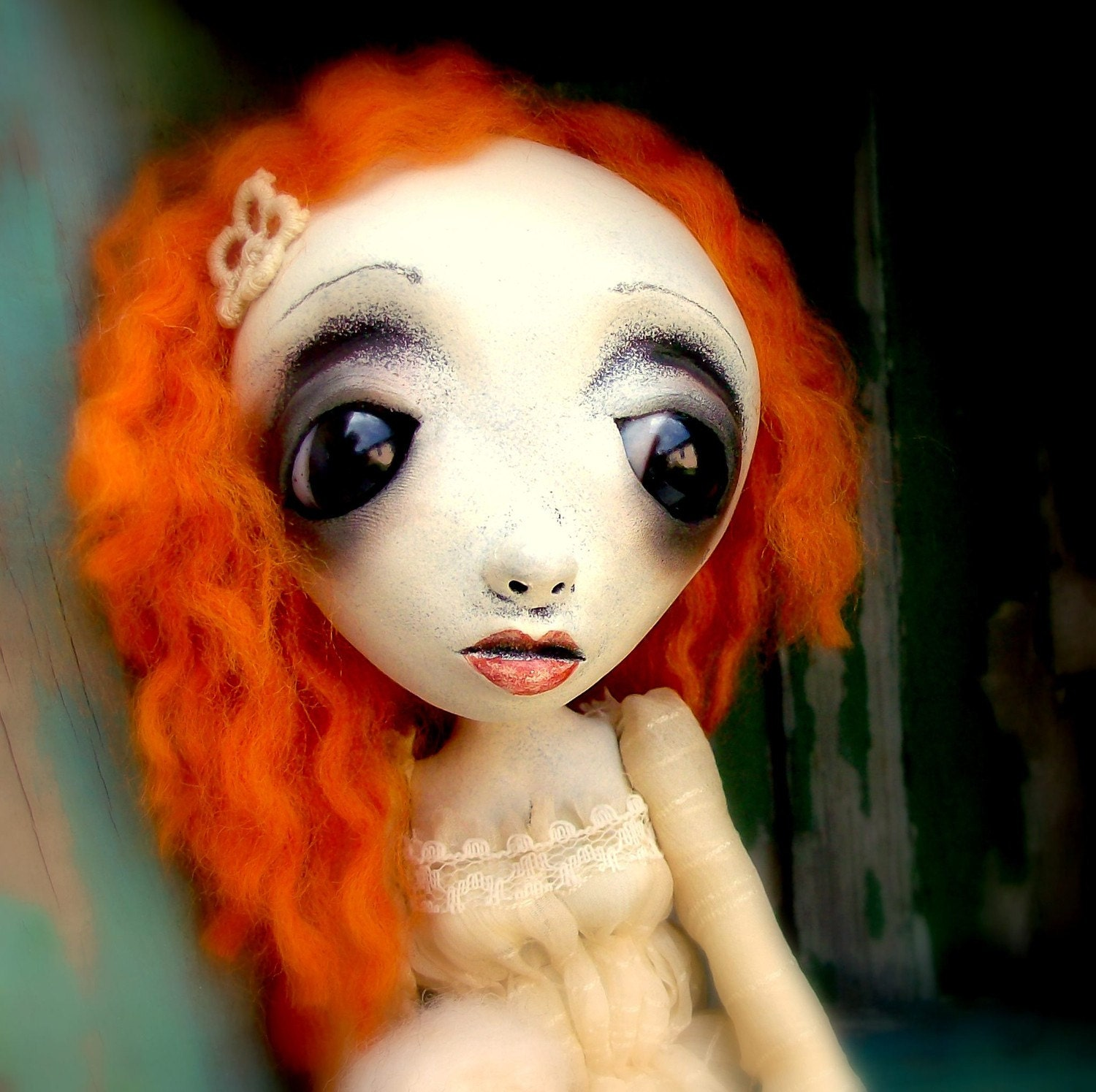Loopy Goth Art Doll Gabby