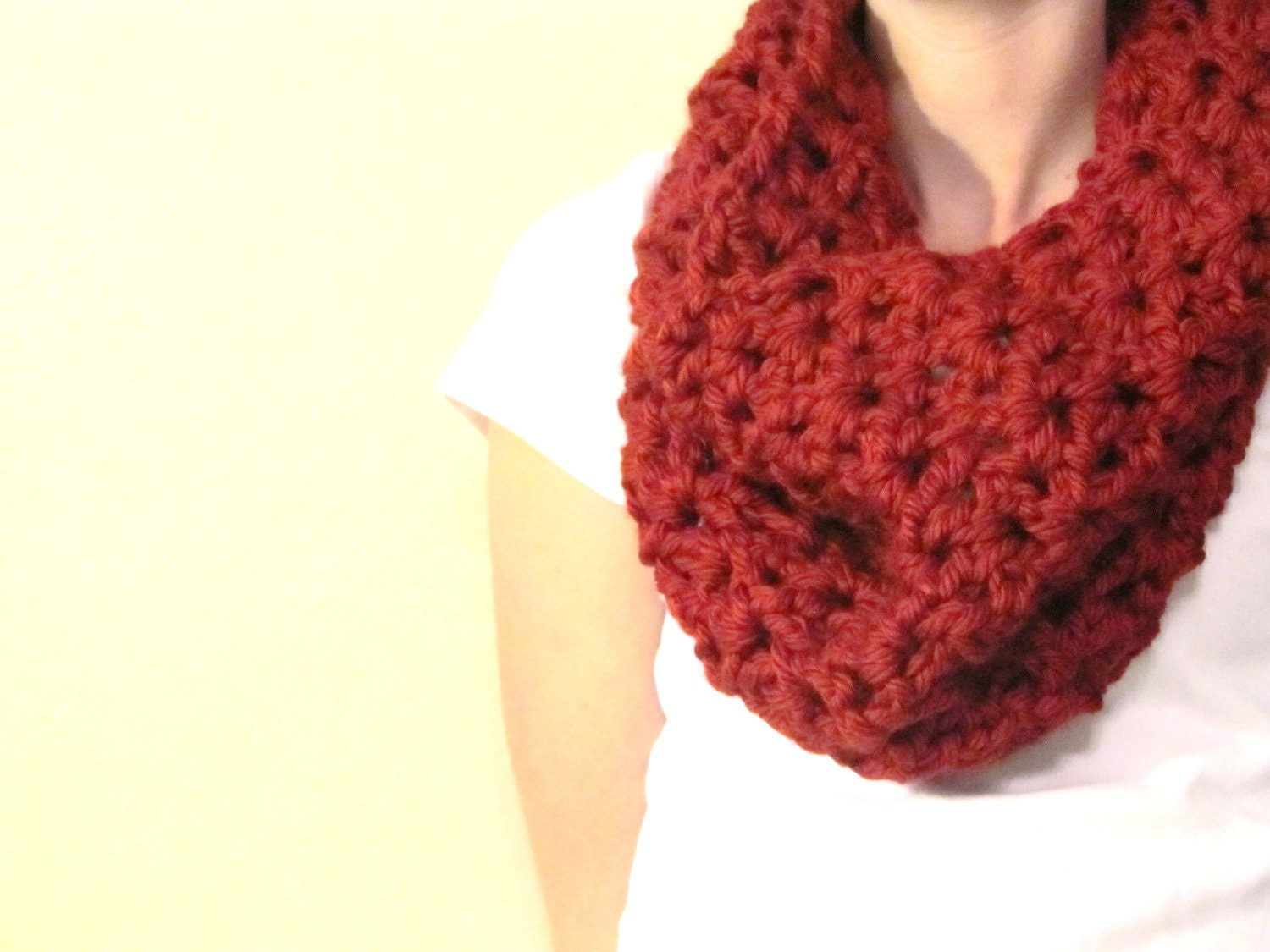 Ready to Ship- Chunky Crochet Cowl