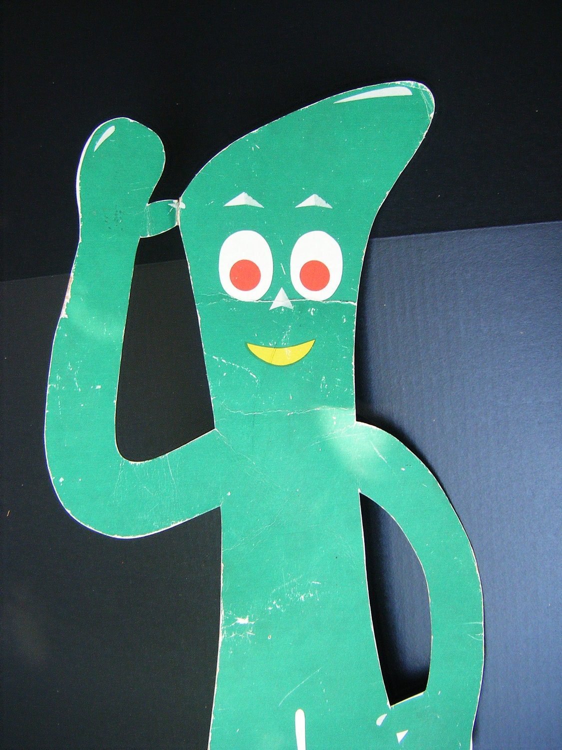 Vintage Gumby Stand Up, Large 34 inches - exploremag