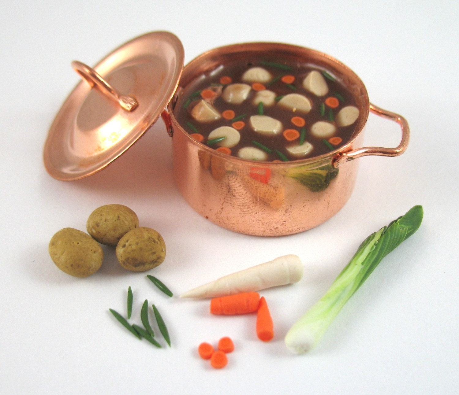 Vegetable Stew - 12th Scale Miniature