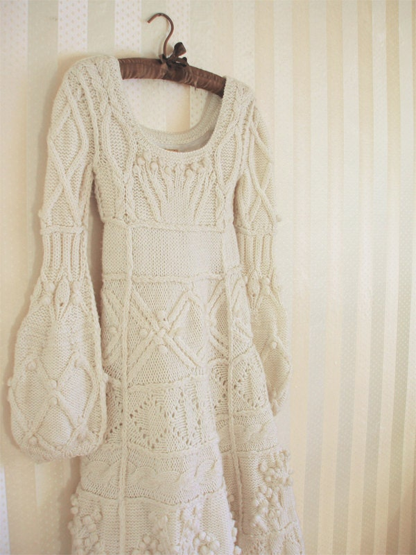 Knitting Pattern Wedding Dress : A Wedding Blog: A Winter Wonderland Wedding