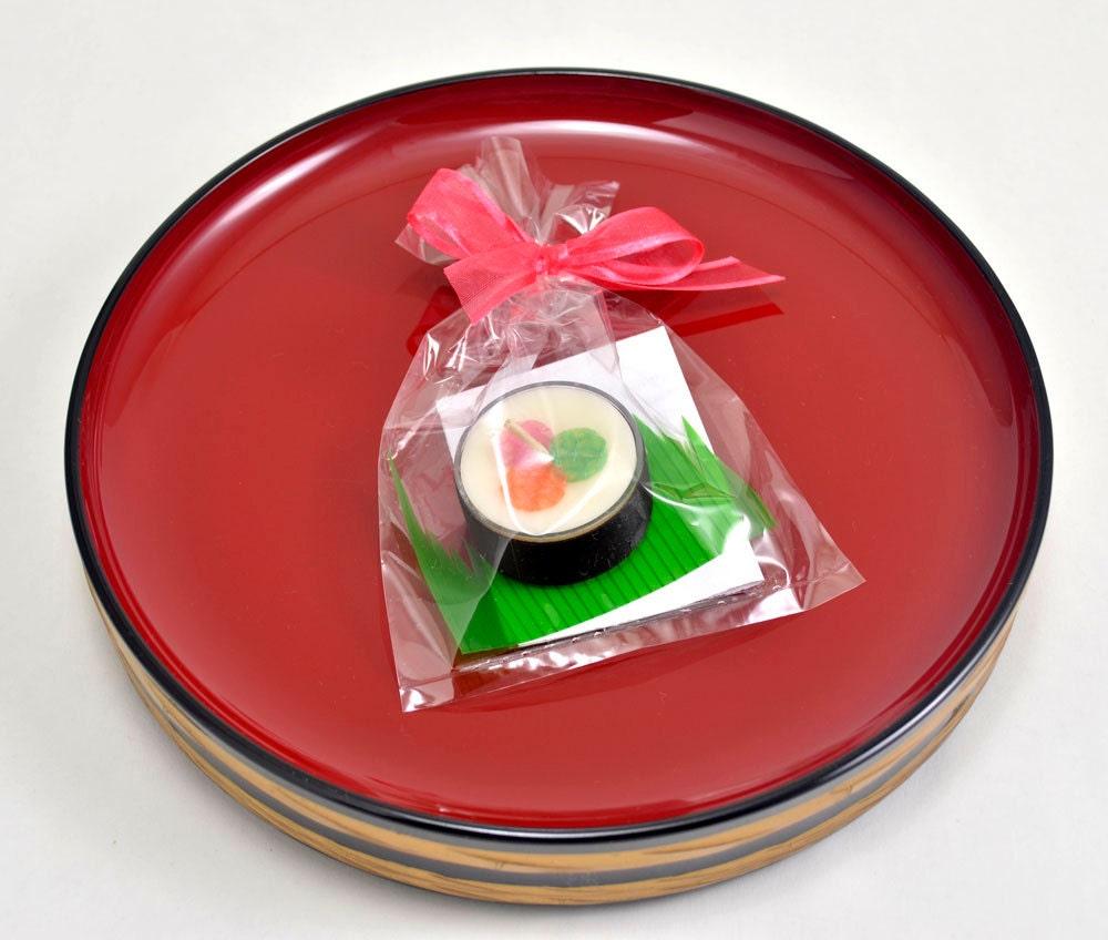 Japanese Wedding Favor Candle Sushi Fake Food Japan By Doublebrush