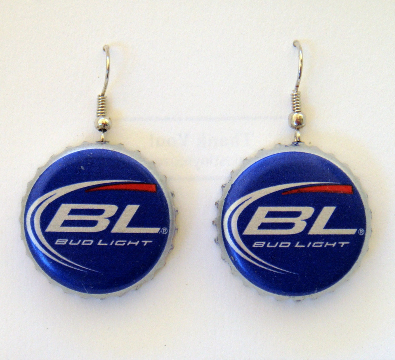 Items similar to bud light recycled beer bottle cap - Beer bottle caps recyclable ...