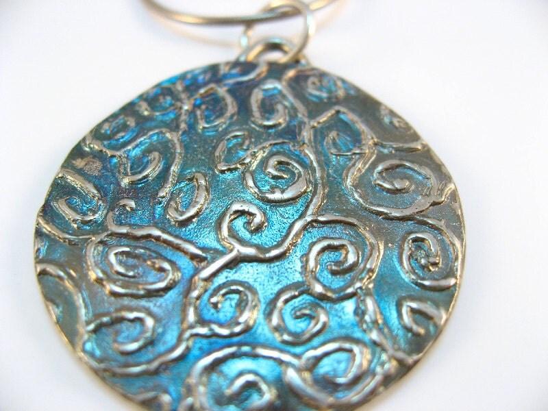 Silver Pendant Swirls 11-06