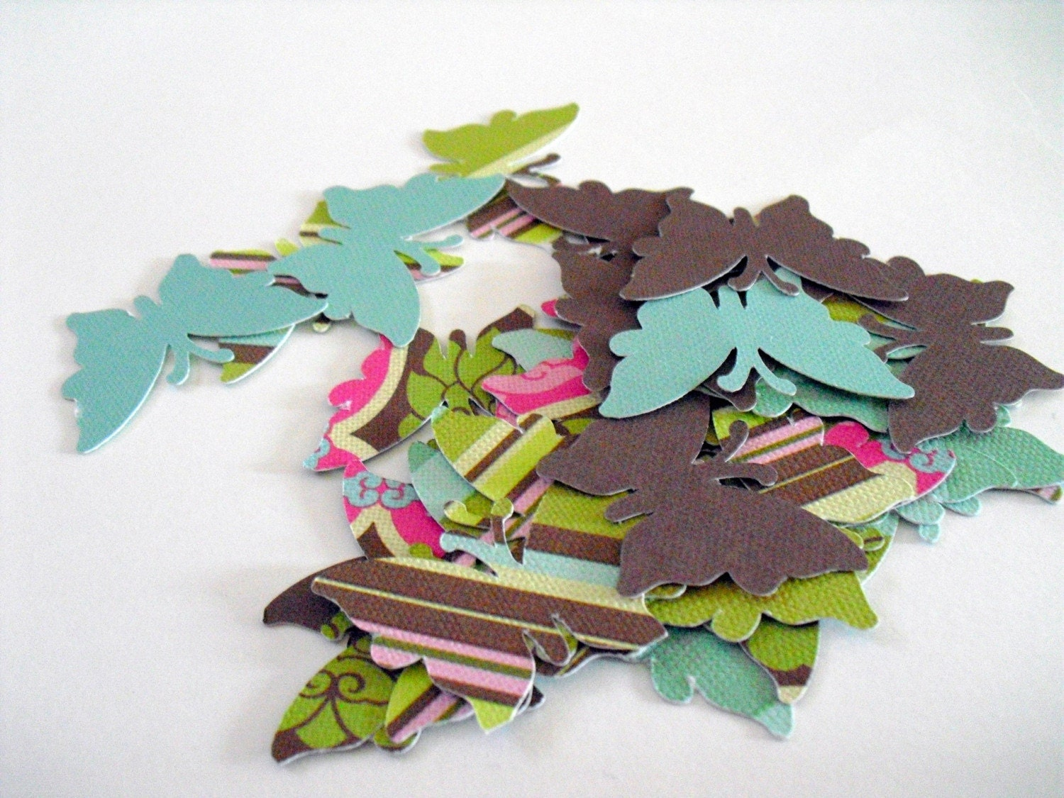 28 Butterfly Die Cut by GULTEN on Etsy