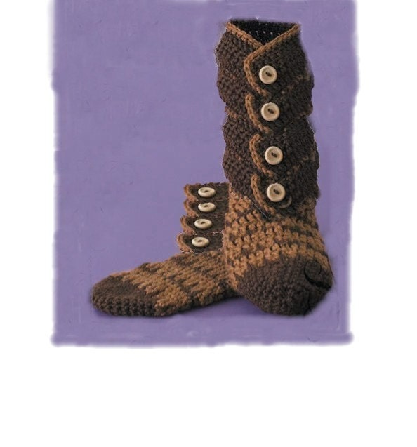 Free Knit Sock Pattern - Folk Mittens
