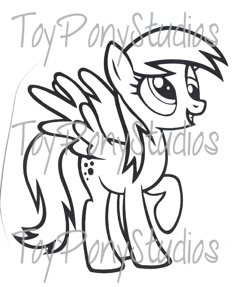 My Little Pony Derpy Coloring Pages : Derpy pony coloring pages
