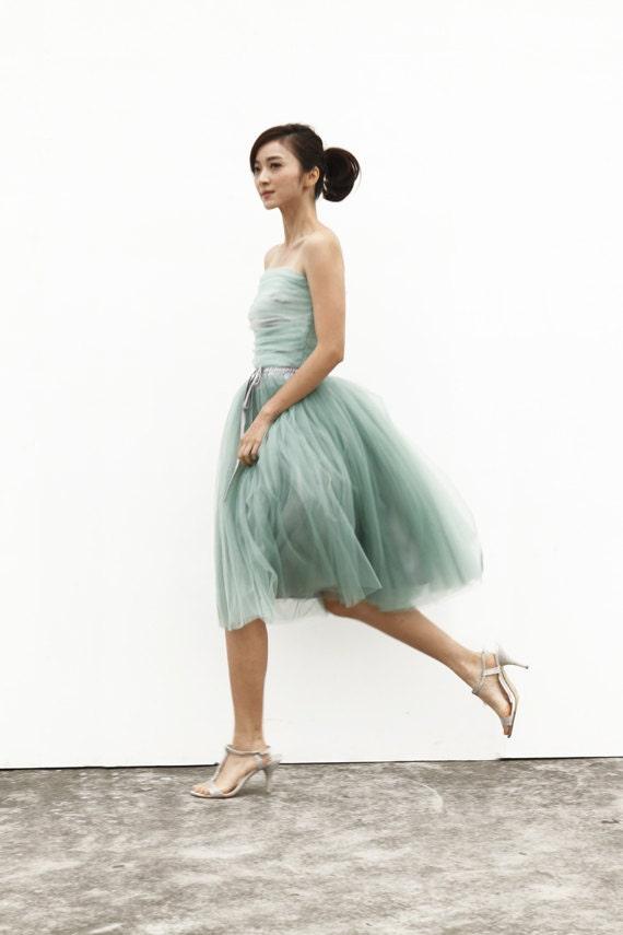 tulle skirt tea length tutu skirt knee length by