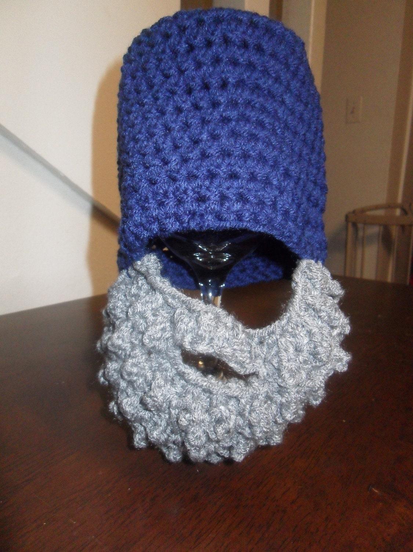 Baby Boy Beard Hat 3-6 months