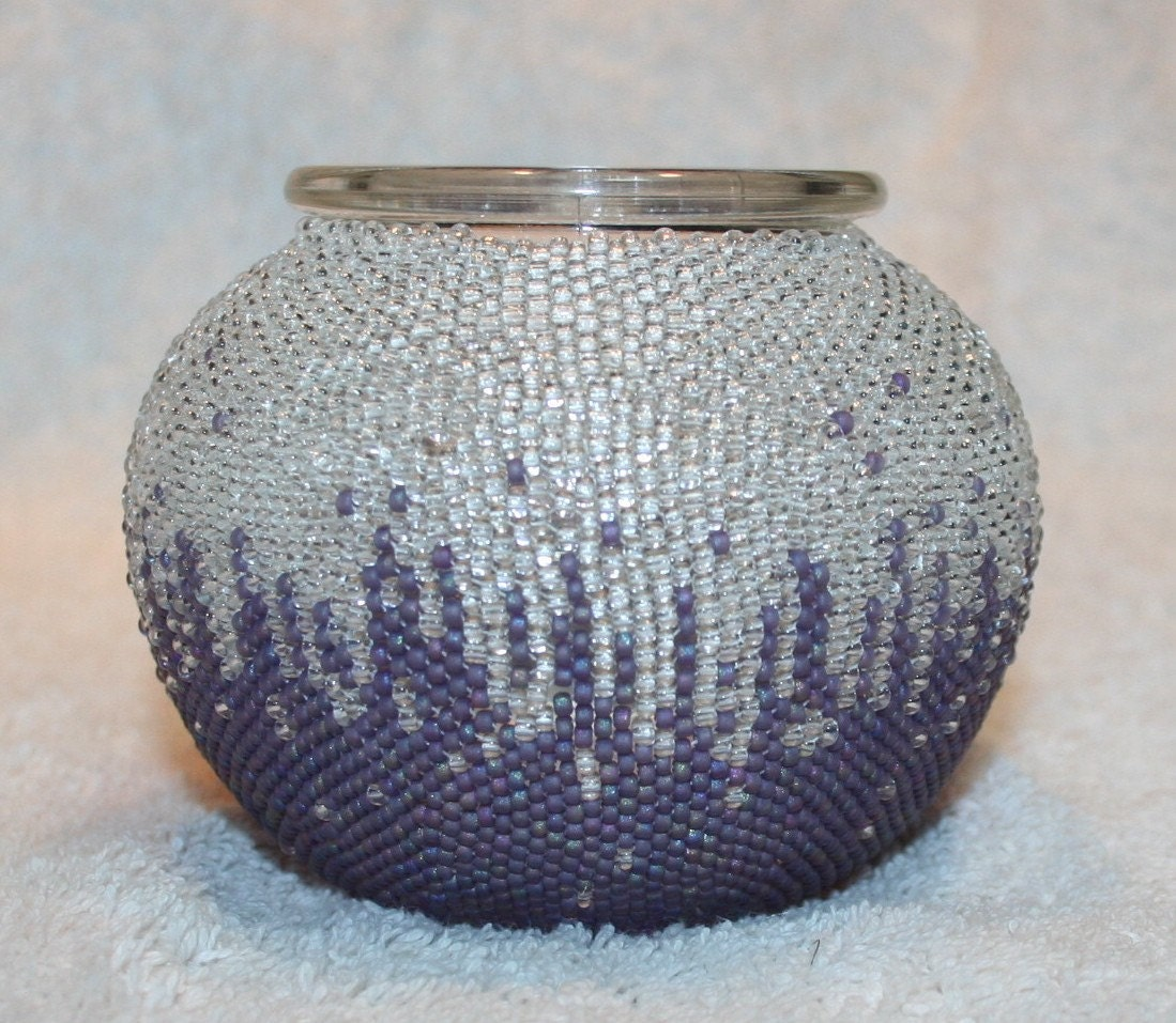 Transitions Beaded Vessel