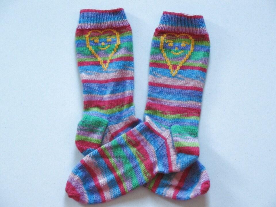 Bobby's Socks - Custom Made Knitted Colorful Socks For Men & Women Color - Easter