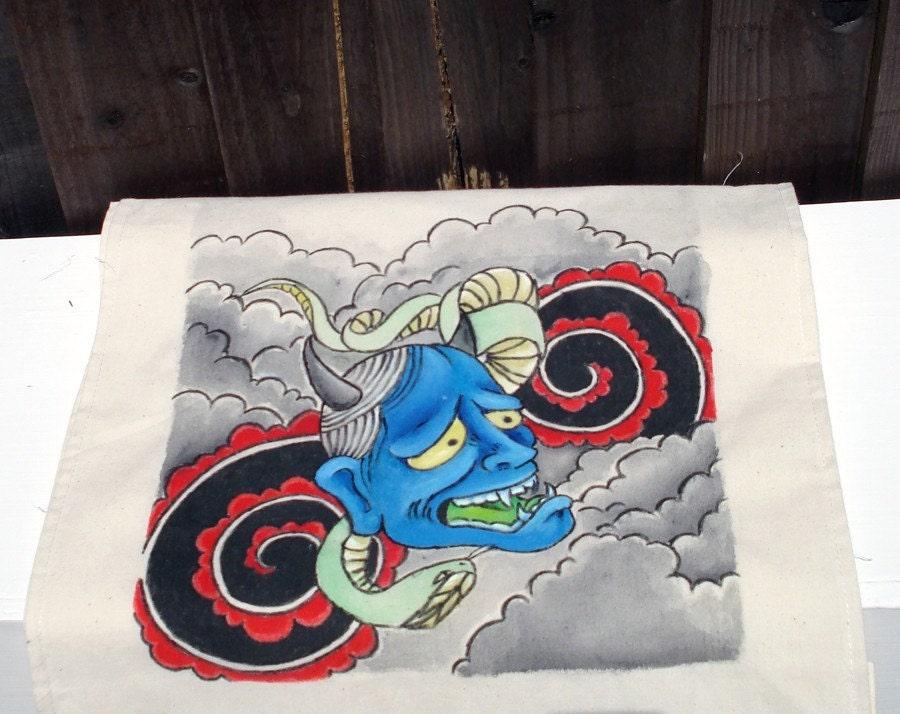 japanese hannya. japanese tattoo