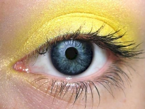 Yellow - Color Therapy - Chakra - Pure Organic Mineral Eye Color