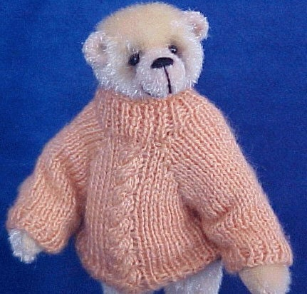 KNITTING PATTERNS TEDDY BEAR SWEATERS | Download Free Patterns