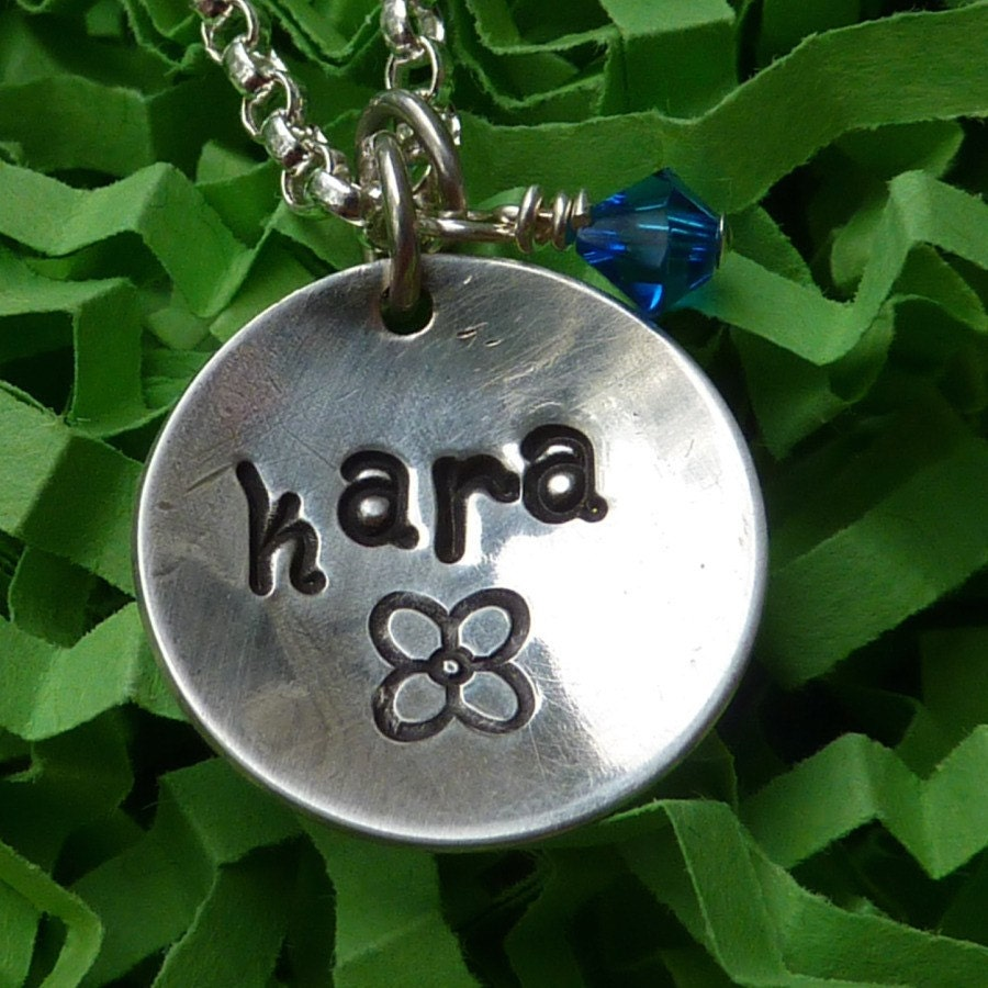 The Charmed Series -- Single Name Necklace. From sissyandjacks